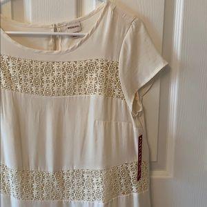 Merona lace crochet shift dress